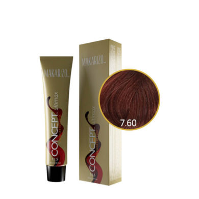 Concept Ultimax Advanced Hair Color 7.60 Intense Red Blonde Tube 60 gr