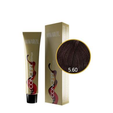 Concept Ultimax Advanced Hair Color 5.60 Light Intense Dark Red Chestnut Tube 60 gr
