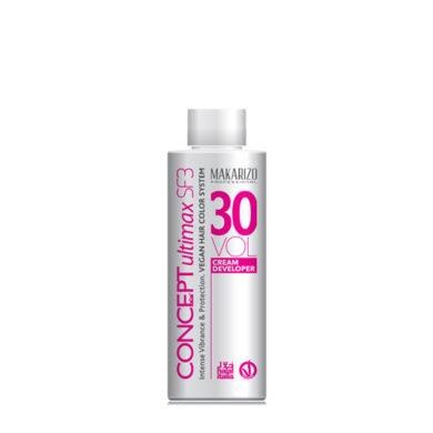 Concept Ultimax Cream Developer SF3 30 Volume Bottle 135ml
