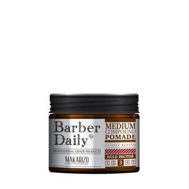 Barber Daily Medium Compound Pomade Jar 120 g