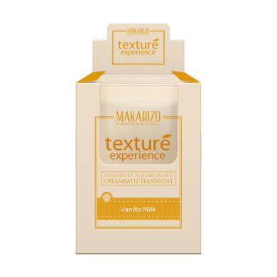 Texture Experience Deep Nourishing Creambath Treatment Vanilla Milk 6 x 60g