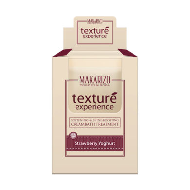 Texture Experience Hair & Scalp Cream Strawberry Yoghurt Sachet 60 gr x 12