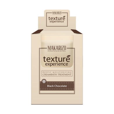 Texture Experience Hair & Scalp Cream Black Chocolate Sachet 60 gr x 12