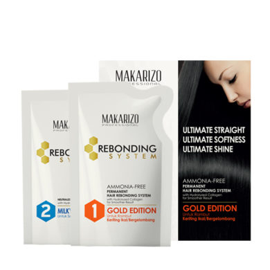 Rebonding System Gold Edition & Milky Pouch 125 ml