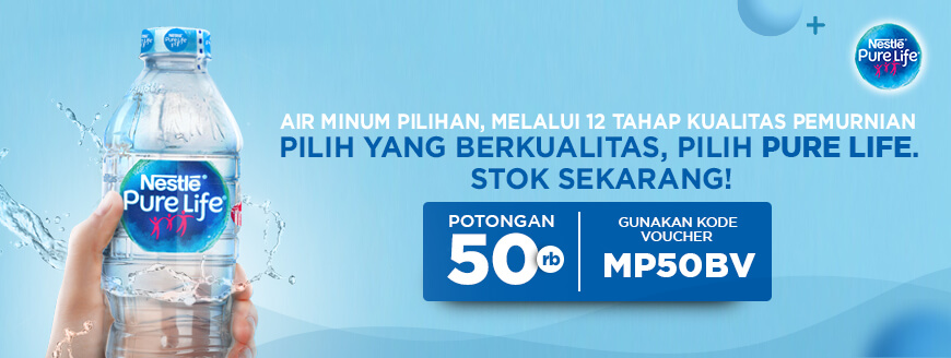 Air Mineral Nestle Pure Life